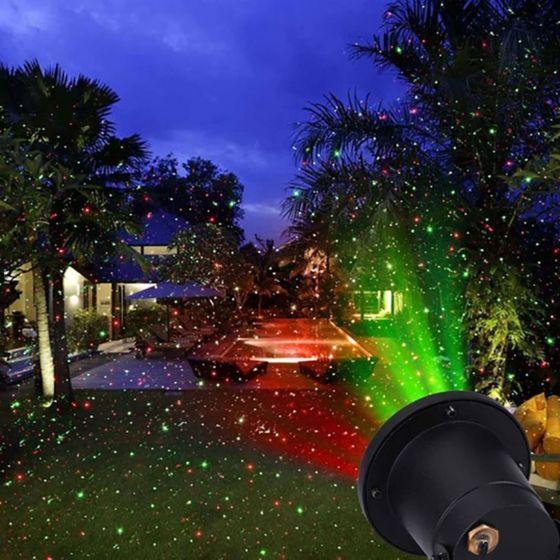 Led dekorativna svetilka laser Globo Tammes 32001