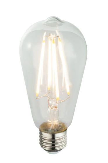 LED žarnica E27 clear 7W 3000k/800lm Globo 11399