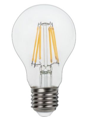 LED žarnica E27 Clear 6W 3000k 800lm Globo 10582-2K set dveh žarnic