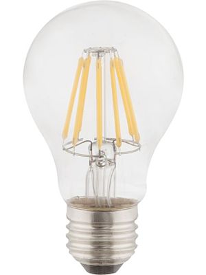 LED žarnica E27 clear 6W 2700k/806lm Globo 10582