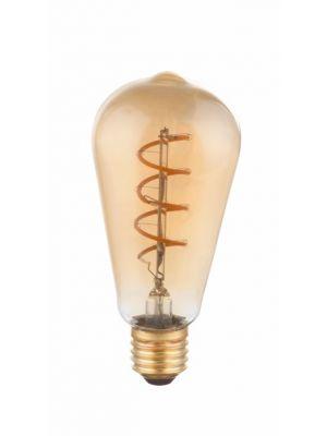 Žarnica LED E27 amber 4W 2000K/200lm, Globo 11405F
