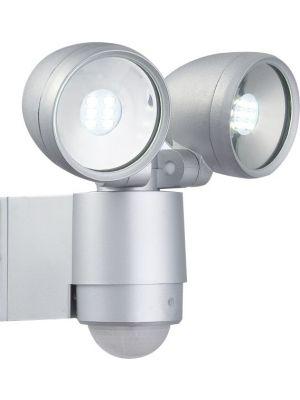 LED Zunanja zidna svetilka s senzorjem Globo RADIATOR II 34105-2S