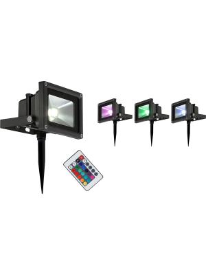 LED reflektor 10W RADIATOR ,Globo 34118s RGB