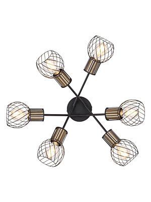Stropna svetilka Globo ARGUSTO 54013-6D
