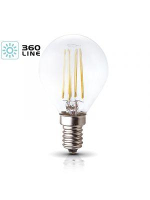 LED žarnica K-Light E14 FMB 4W-3000K/440lm 360 Line