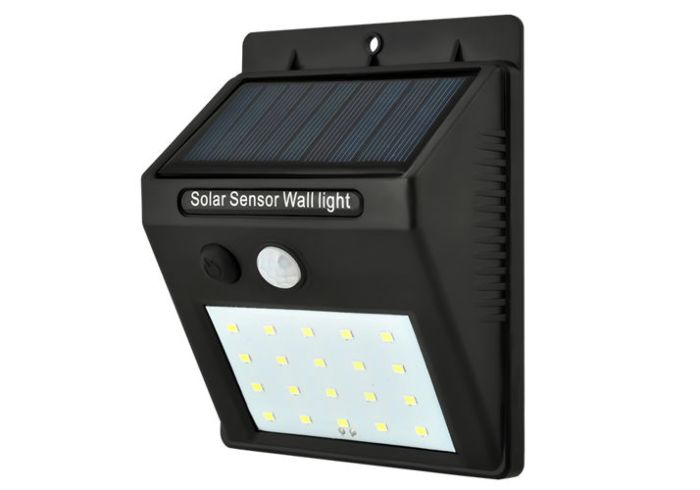 LED solarni reflektor s senzorjem Maxi SOLAR 2-PROMO